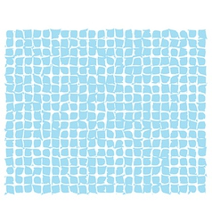 Abstract blue deformed squares vector