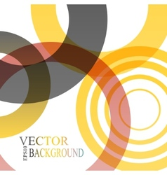 Abstract shapes background colorful vector image vector image