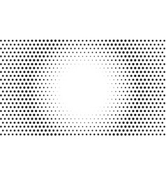 circle dots background abstract halftone vector image