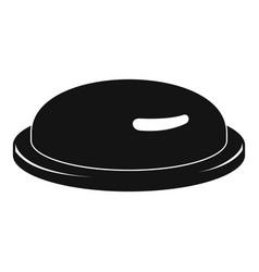 condom icon simple style vector image