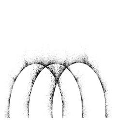 Ink blots background vector