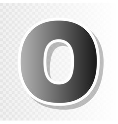 letter o sign design template element new vector image