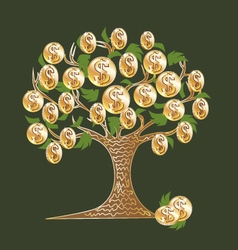 money tree 2 vector image