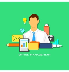 Office Management vector