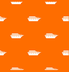 Powerboat pattern seamless vector
