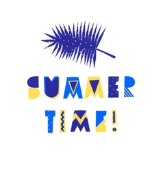 Summer Poster Design vector