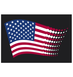 Usa flag - united states america vector