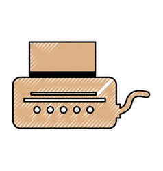 video game console icon vector image