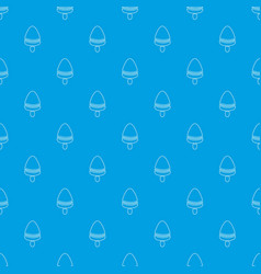 watermelon ice cream pattern seamless blue vector image