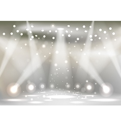Stage vector image vector image