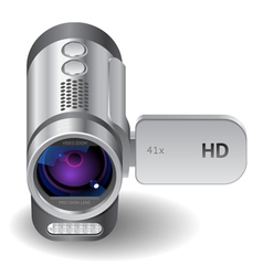 Icon for camcorder vector image vector image