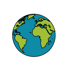 Earth planet world image vector