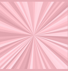 abstract starburst background from radial stripes vector image