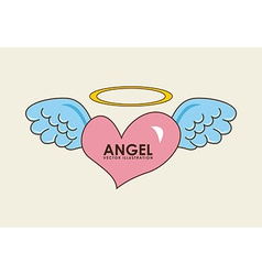 angel design vector image