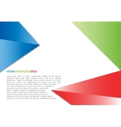 color background abstract polygon triangle vector image