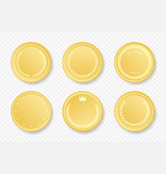 golden sale frame badge and label collection vector image