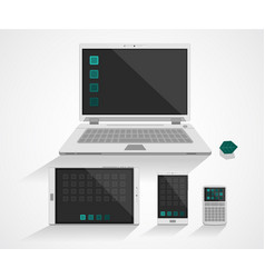 internet device vector image
