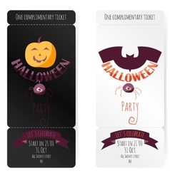 Invitation To a Halloween vector image