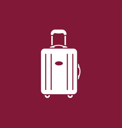 luggage modern icon vector image