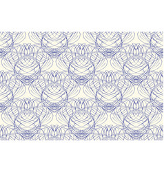 Modern seamless pattern damask tile vector