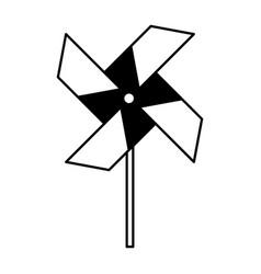 Turbine paper isolated icon vector