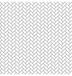 parquet diagonal seamless pattern vector image vector image