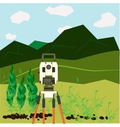 Surveying vector image