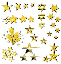 Star Collection icon vector image
