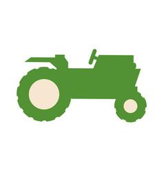 tractor farm vehicle vector image