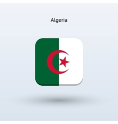 Algeria flag icon vector