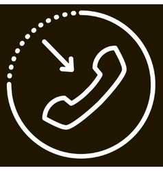call icon sign vector image vector image