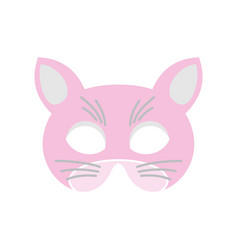 Cat mask vector