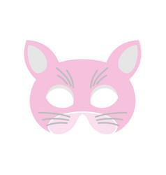 Cat mask vector