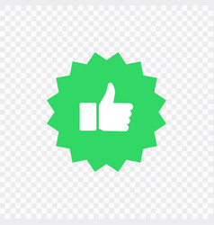 Like and dislike icons collection set thumbs up vector