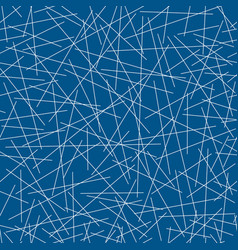 Seamless pattern random lines vector