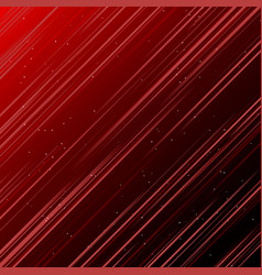abstract technology red laser rays light and vector image vector image