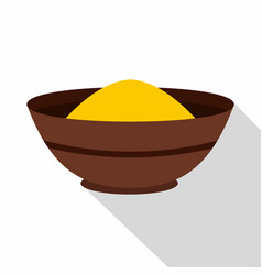curry spices icon flat style vector image