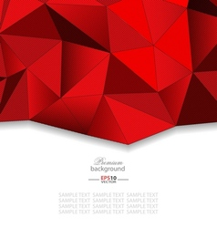 Geometric abstract mosaic background vector