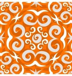 Orient arabesque seamless pattern vector image