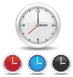 analog clock vector image