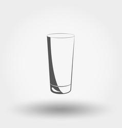 Classic glassful icon vector