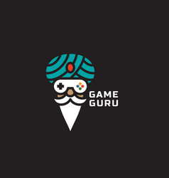 game guru logo vector image