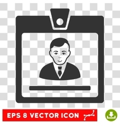 Manager Badge EPS Icon vector
