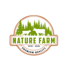 milk natural product rural landscape with mill an vector image