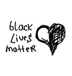 Stop racism us black lives matter protest banner vector