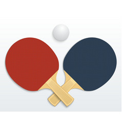 Table tennis vector