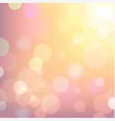 festive colorful background of pink and yellow vector image