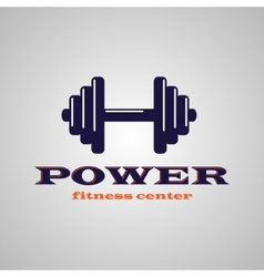 Fitness center vector image vector image