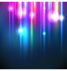 Abstract image of lighting flare Set vector image vector image