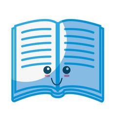 book cute cartoon vector image